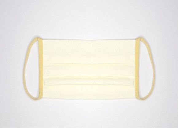 Reusable cotton mask (MO-1) yellow